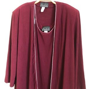 Alex Evenings ♥️ Dress & Jacket